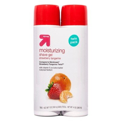 Women's Strawberry Tangerine Twin Pack Shaving Gel - 7oz - Up&Up153; (Compare to Skintimate Strawberry Tangerine Twist) by up & up™
