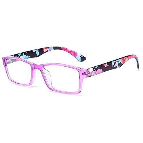 de diseñadas Gafas Inlefen colores Gafas 3 estilo de con unisex Multicolor lectura 3 pares para leer qtf88axCw