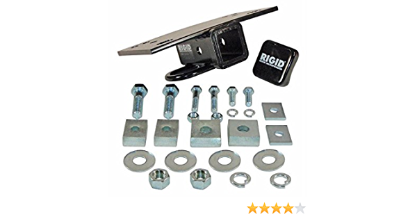 with 2 Receiver Opening Buyers Products SBH2 Step Bumper Hitch