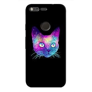 Cover It Up - Psydelic Cat Pixel Hard Case