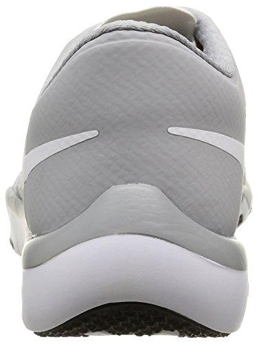 White Herren Blanco Gry NIKE Plateado White 0 Slvr mtllc V6 Free Gris 5 wlf Trainer Hallenschuhe RwwqP0X