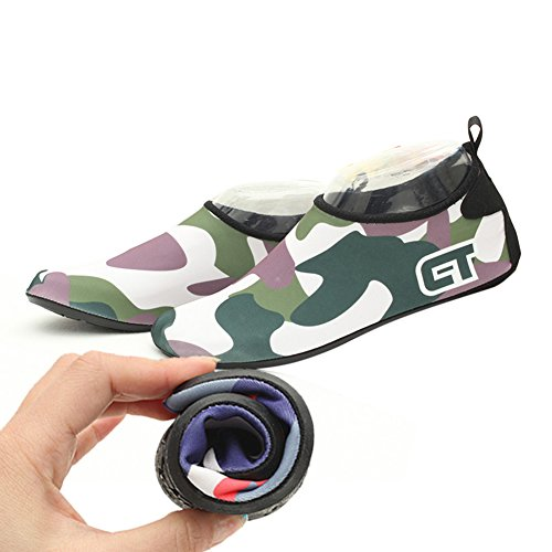 Shoes Upstream Beach Green Unisex Creek Yiwa Snorkeling Shoes for Dark Drying Outdoor Sneakers Ultra Slip Aqua Hiking Boots Light Non Quick CxRY58x