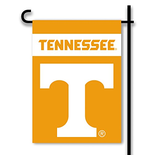 NCAA Tennessee Volunteers Two Sided Garden Flag, One Size, Tennessee (Tennessee Volunteers Garden Flag)