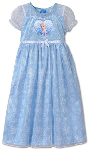 Disney Frozen Fancy Dressup Girls Nightgown, Toddlers Size 4T (Disney Frozen Gowns)