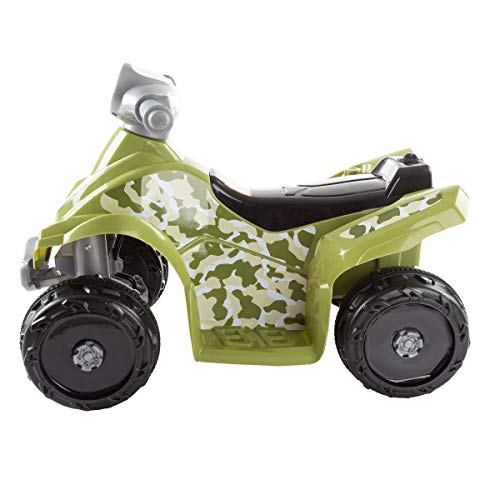 41L9nvxeTcL - Lil' RiderRide-On Toy ATV -Battery Operated Electric 4-Wheeler for Toddlers with Included Battery Charger and Push Button Start (Green Camo)