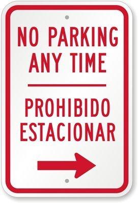 Amazon.com: No hay estacionamiento en cualquier momento ...