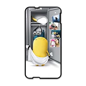 Cheerful Lovely Minions Cell Phone Case for HTC One M7 by ruishername
