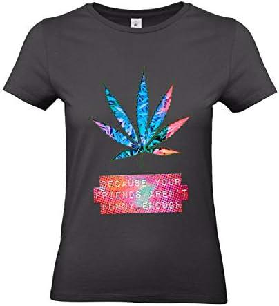 Smilo & Bron damska koszulka z motywem Mj Fact: Odzież