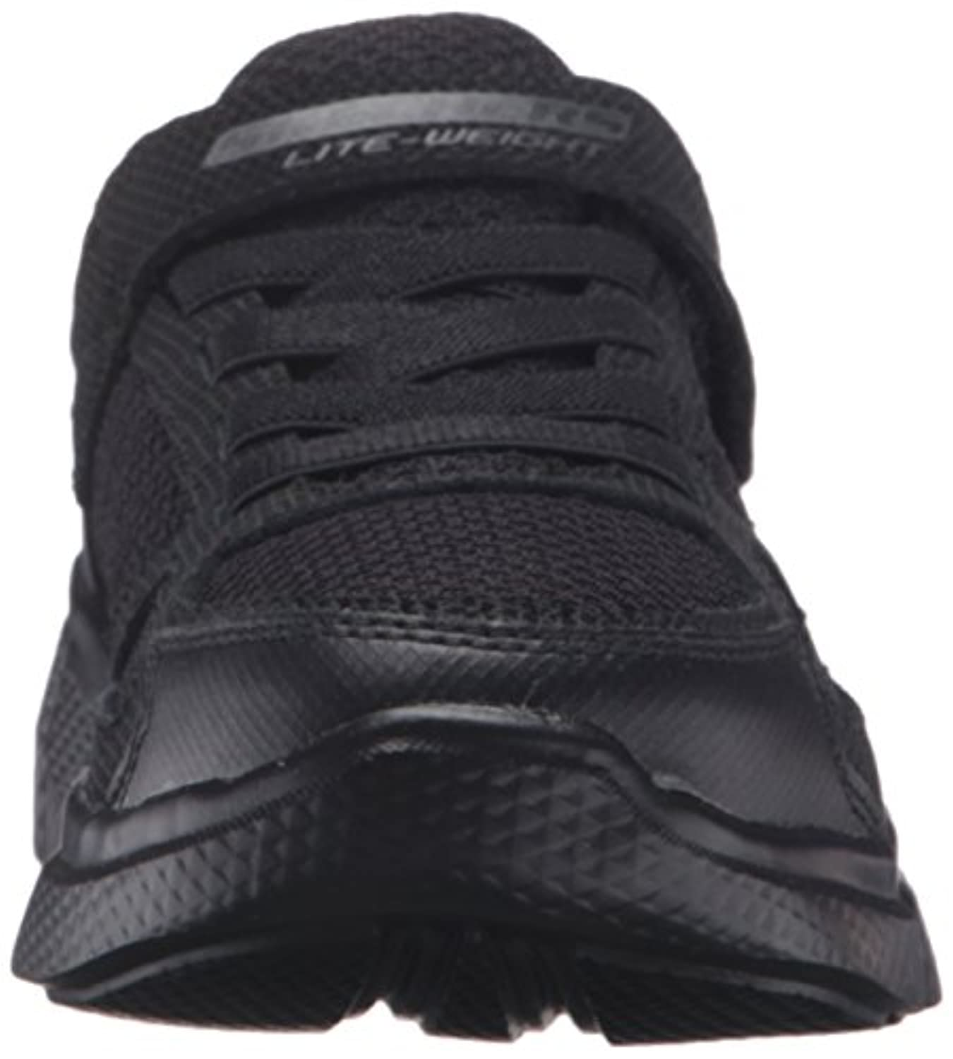 Size 2 Skechers Boy's Instant Replay Synthetic Formal Shoes