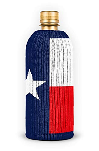 FREAKER Fits Every Bottle Can Beverage Insulator, Stops Bottle Sweat, Big Willie Texas Flag (Distance From San Antonio Texas To Dallas Texas)