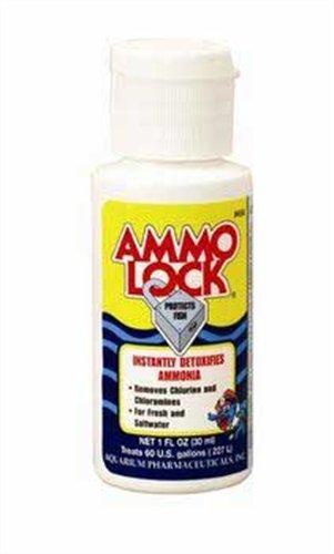 API Ammo-Lock Ammonia Detoxifier, 1-Ounce by (Aquarium Pharmaceuticals Ammo Lock)
