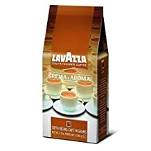 Lavazza Crema e Aroma, Coffee Beans, from ITALY, 1kg or 2,2lb, Superior Quality