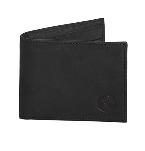 Sullen Icon Genuine Leather Bi-Fold Wallet