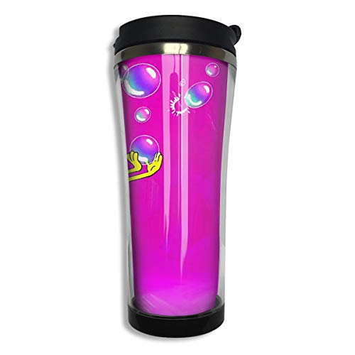 Stainless Steel Travel Mug Spongebob Squarepants with Bubble Coffee Cup Tumbler with Lid 14.3 Oz