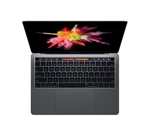 Apple MPDK2LL/A 13'' MacBook Pro, Retina, Touch Bar, 3.3GHz Intel i7 Dual Core, 16GB RAM, 512GB PCIe SSD, Intel Iris 550 Graphics, Space Gray by Apple (Image #1)
