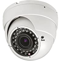 Amview 1300TVL 1/3 1.3MP CCD 2.8-12mm lens 36pcs infrared LEDs night vision dome security camera for CCTV system