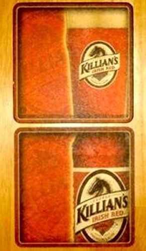 Killians Irish Red Beer Coasters 25 Count