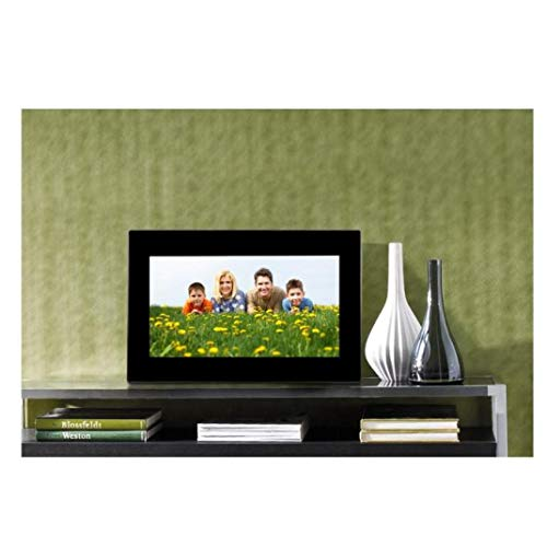 7inch HD LCD Digital Photo Frame MP3/MP4 Player,Support Alarm Clock Slideshow 4 Repeat Modes,with Remote Control