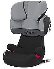 Cybex - Silla de coche grupo 2/3 Solution X2-Fix, para coches con y sin ISOFIX, 15-36kg, desde los 3 hasta los 12 años aprox., Cobblestone