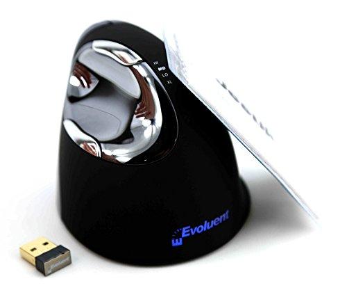 Microfiber Cloth Bundle: Evoluent VerticalMouse 4 Right Wireless VM4RW Plus Jestik