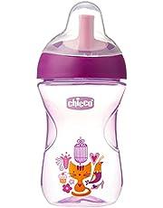 copo advanced Cup 12m+ roxo, Chicco, rosa