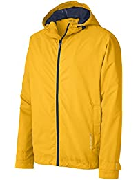 Mens Classic Rain Jackets in 4 Colors, Sizes: XS-4XL