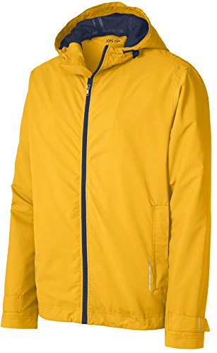 - Joe's USA(tm) Mens Classic Rain Jacket-Yellow-L