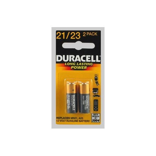 2 X Duracell Alkaline Security & Electronic Battery Security 12.0 V Model No. 21/23 Card 2