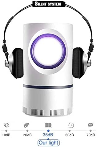 DPPD Lampada per zanzare USB Multi-Funzione Anti-Radiazioni zanzara Killer Pulsante Smart Touch zanzara Killer Home Silenzioso Risparmio energetico Lampada per zanzare Sicurezza