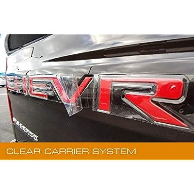 EyeCatcher Tailgate Insert Letters fits 2020-2020 Chevrolet Silverado (Red): Automotive