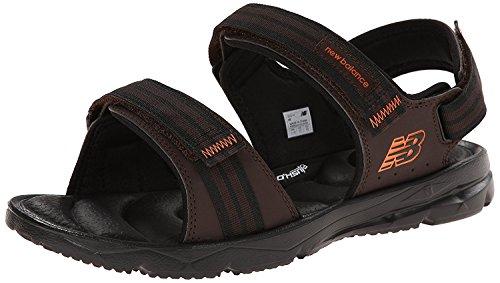 New Balance Mens Rev Plush2O Sandal Rafter Sandal, Marrn, 47.5 D(M) EU/12.5 D(M) UK