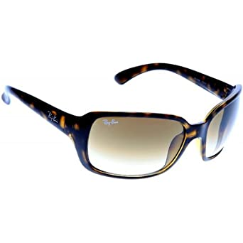 1faaf70c86 Ray-Ban RB4068 710 51 Sunglasses Tortoise Frame Brown Lens  Amazon.co.uk   Clothing