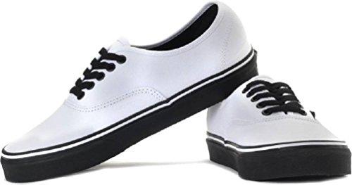Vans Mens Authentic Skateboarding Shoe (Black Outsole) True White HryAETV