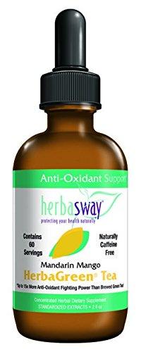 Herbagreen Mandarin Mango Swirl Tea 2 OZ by Herbasway