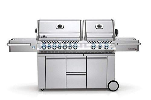 Napoleon Grills Prestige PRO 825 with Power Side Burner and Infrared Rear and Bottom Burners Natural Gas Grill