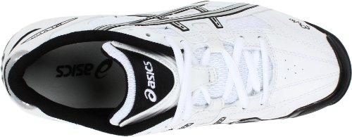 GEL ASICS Field White V Womens Black Silver Shoe Cut rpqxrgw