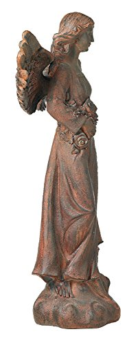 English Tudor Garden Angel 41 1/2'' High Statue by Kensington Hill (Image #3)