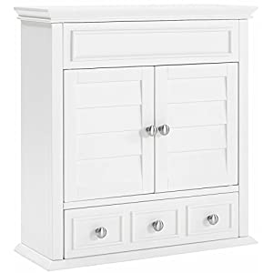 Crosley Furniture Lydia Bathroom Wall Cabinet