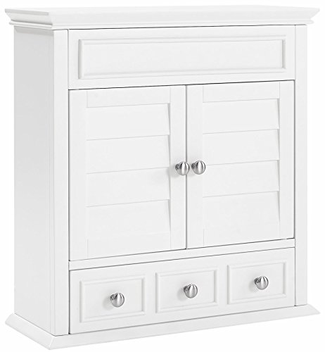 Crosley Furniture Lydia Bathroom Wall Cabinet - White