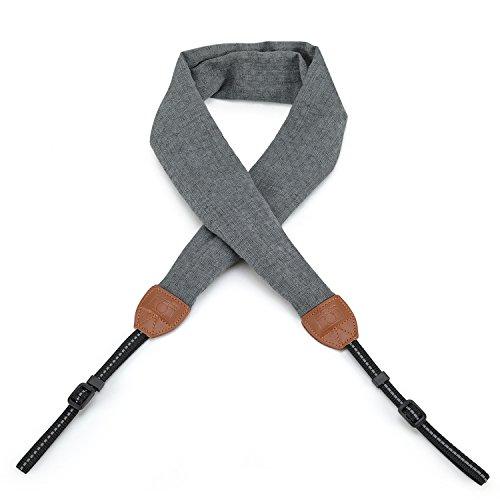 Camera Strap,Igingko Camera Belt for All DSLR Camera Nikon / Canon / Sony / Olympus / Samsung / Pentax / Leica (Grey)