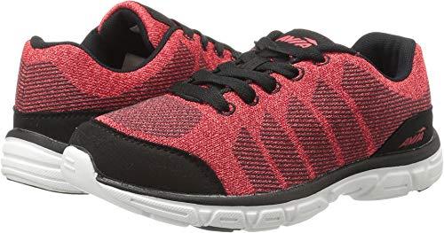 Avia Boys Avi-Rift Sneaker, red Heather/Black, 5 Medium US Big Kid