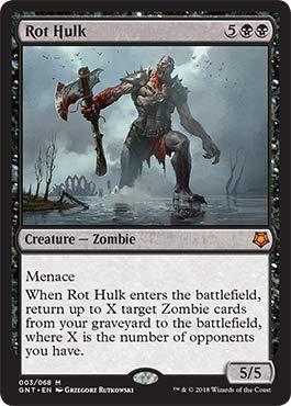 Magic: The Gathering - Rot Hulk - Magic Game Night
