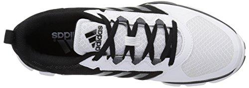 Adidas Heren Buitenissig X Carbon Mid Crosstrainer Zwart / Carbon Voldaan. Wit