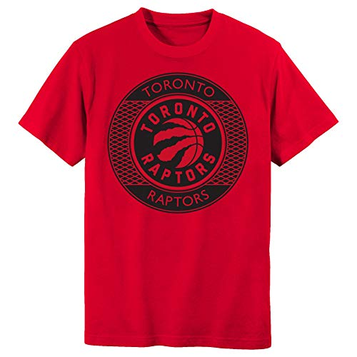 Outerstuff Youth NBA Toronto Raptors Red T-Shirt (Youth Large(10/12)) (La T-shirt Nba)