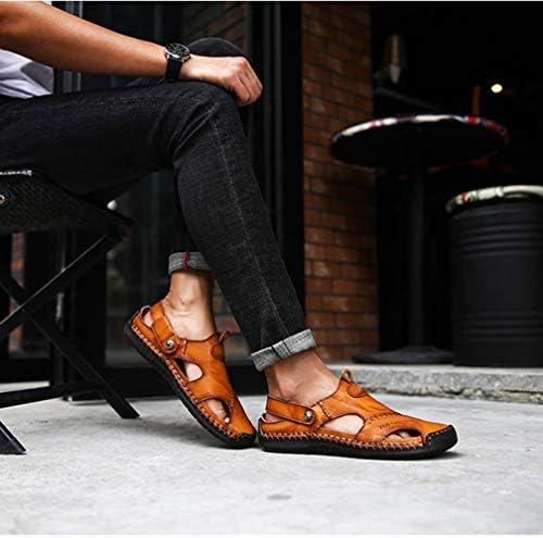サンダル メンズ スポーツサンダル ビーチサンダル コンフォート アウトドア 歩きやすい 滑り止め おしゃれ ぺたんこ 外履き 内履き 甲高 レザー 2種類履き方 職場用 クッション性