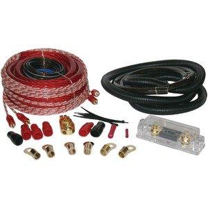 SOUNDQUEST SQK8 Copper-Clad Aluminum Amp Wiring Kit (8 Gauge) Accessories Electronics (Ofc 8 Gauge Amp Kit)