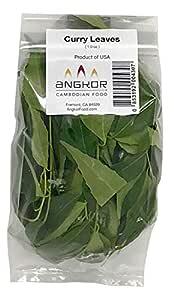 Organic Curry Leaves (No Stems) - 1.0 oz