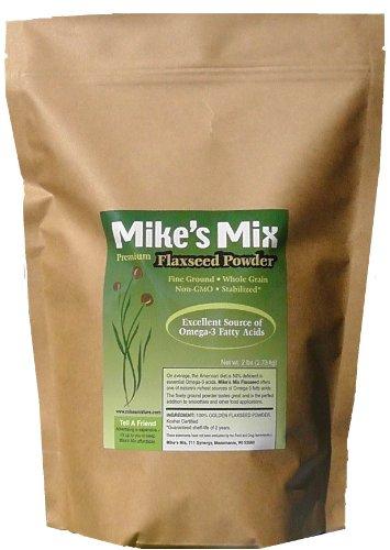 Mix de lin moulues de semences de Mike pour les smoothies-2 LBS