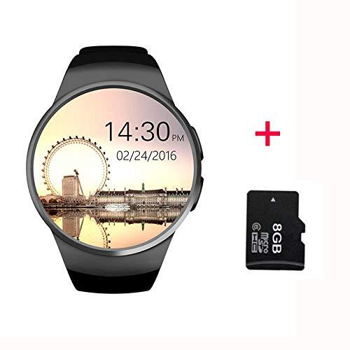 LIHAITAO Smartwatch Vollbildschirmunterstützung SIM TF Karte Smartwatch Handy Herzfrequenz für Apple Gear S2 Huawei…