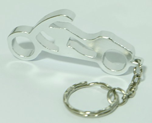 Motorcycle Keychain Ring Key Chain Bottle Openers Beer Bottle Opener Bar Small Beverage (1 piece) (Disney Firefly Phone)